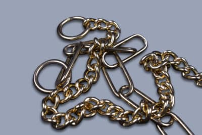 Chain collars solid brass