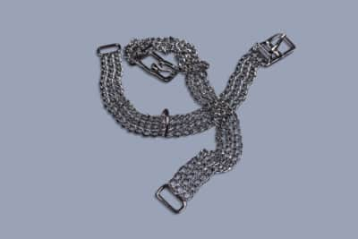 Chain collar with buckle